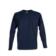 Geocaching t-shirt heren ls marine