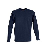 t-shirt heren longsleeves marine