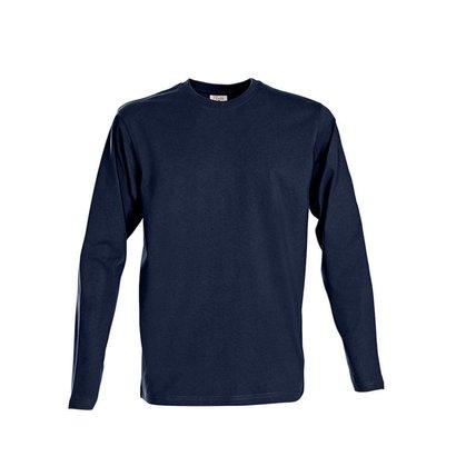 t-shirt heren longsleeves marine