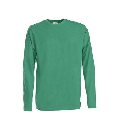 t-shirt met lange mouwen voor mannen frisgroen