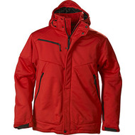 Softshell skeleton heren rood