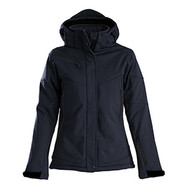 Softshell skeleton dames marine