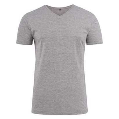 Geocaching v-neck t-shirt heren grey