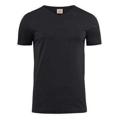 v-neck t-shirt heren zwart
