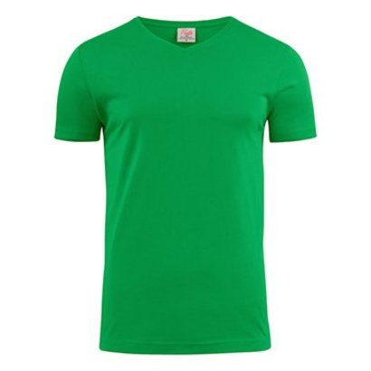 v-neck t-shirt heren frisgroen