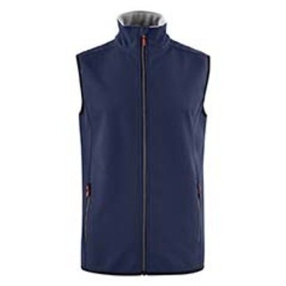 Softshell bodywarmer heren marine