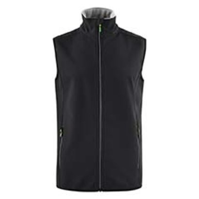 Softshell bodywarmer heren zwart