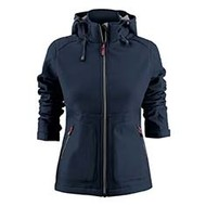 Softshell Karting dames marine
