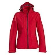 Regenjas Flattrack dames rood