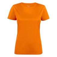 T-shirt dames polyester feloranje