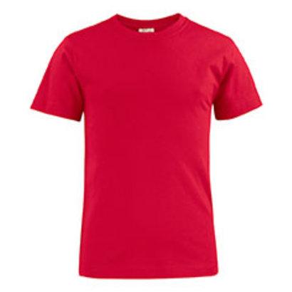 katoenen t-shirt voor kids rood