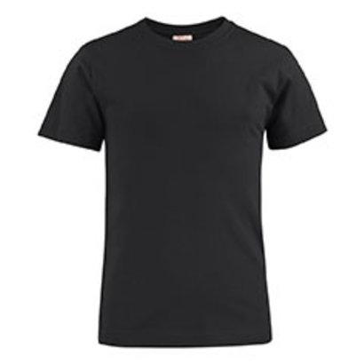 katoenen t-shirt voor kids zwart