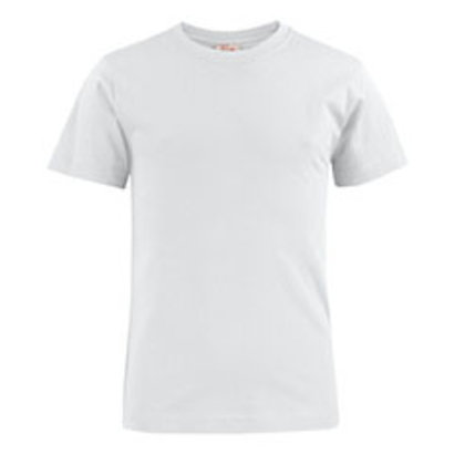 katoenen t-shirt voor kids wit