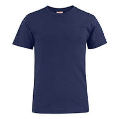 katoenen t-shirt voor kids in marine