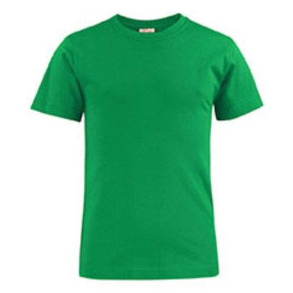 katoenen t-shirt voor kids frisgroen