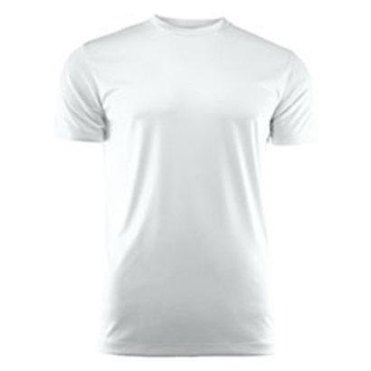 Sportshirt voor kids wit