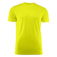 Sportshirt voor kids neongeel
