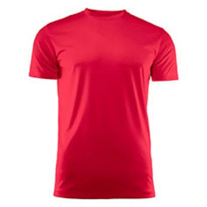Sportshirt voor kids rood