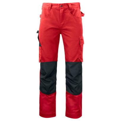 Projob werkbroek met kniestukken 5532 rood