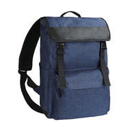 Melange Backpack blauwmelee
