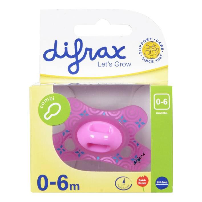 DIFRAX Pacifier Difrax  0-6M