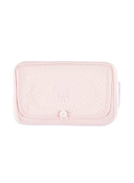Théophile & Patachou Travel baby wipes cover Royal Pink Theophile & Patachou