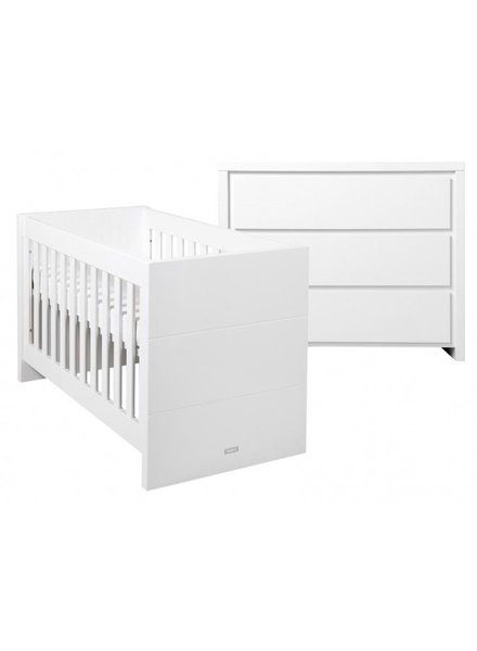 BOPITA Baby bed + changing table Camille