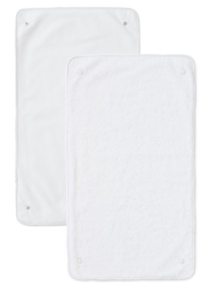 FIRST Two towels for changing pad Crystal White First