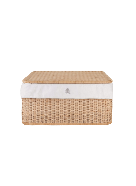 Théophile & Patachou Small wicker basket Sand Theophile & Patachou