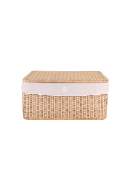 Théophile & Patachou Small wicker basket Blush Pink Theophile & Patachou