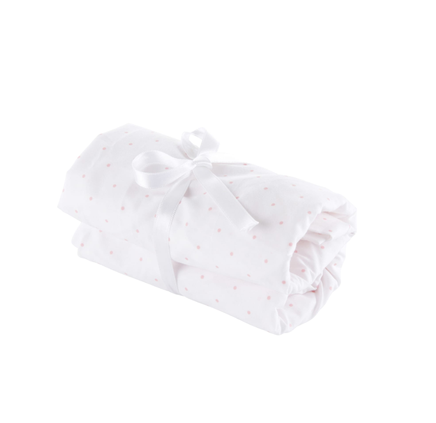 Théophile & Patachou Fitted sheet 60x120cm Blush Pink Theophile  & Patachou
