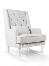 Rocking Seats Schommelstoel Royal Rocker Grey / wit
