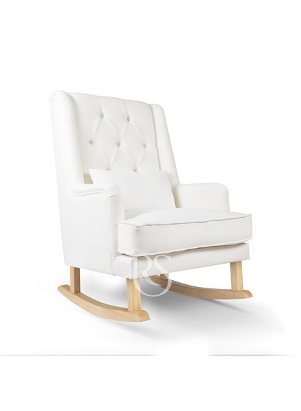 Rocking Seats Schommelstoel Royal Rocker Wit / Natural