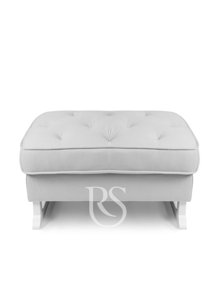 Rocking Seats Footstool Royal Rocker White / Natural