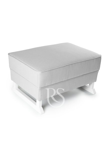 Rocking Seats Footstool Royal Rocker White / Natural - Copy