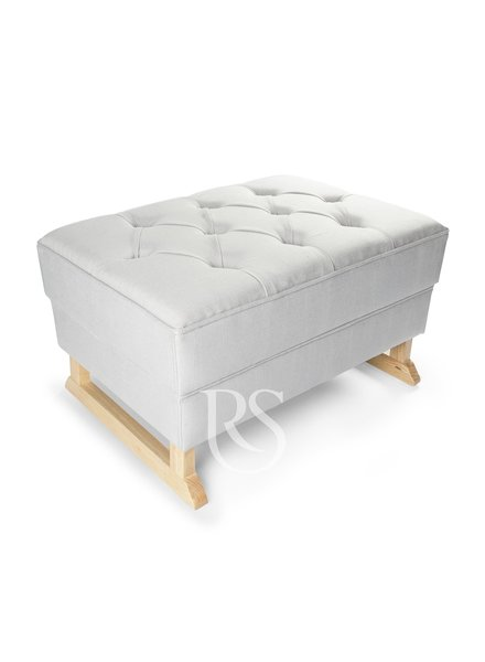 Rocking Seats Footstool Royal Rocker White - Nature