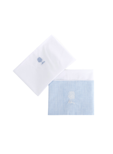 Théophile & Patachou Sheet bed + pillowcase  Sweet Blue Theophile & Patachou