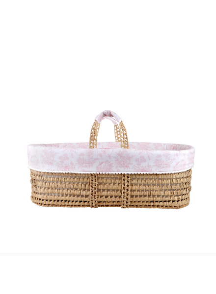 Théophile & Patachou Wicker moises and cover Sweet Pink  Theophile & Patachou