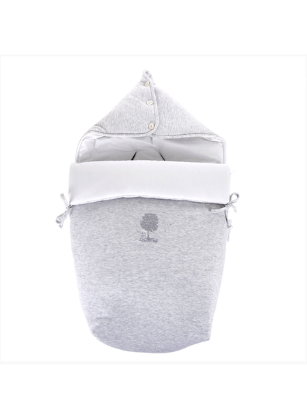 Théophile & Patachou Footmuff pebble Soft Grey Theophile et Patachou