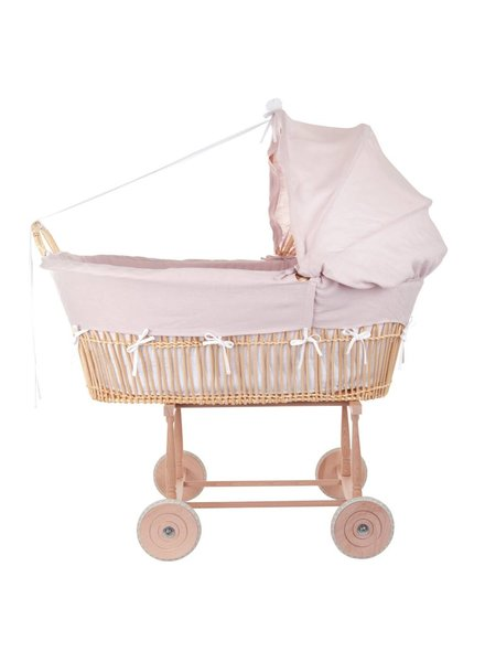 Théophile & Patachou Wicker cradle Theophile & Patachou