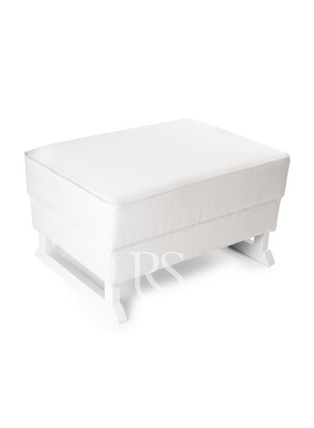 Rocking Seats Footstool Royal Rocker White - White