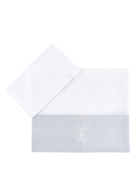 Théophile & Patachou Sheet bed + pillowcase  Pearl Theophile & Patachou