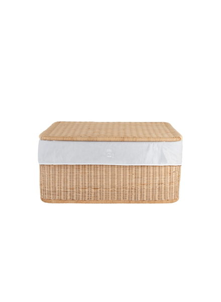 Théophile & Patachou Small wicker basket Pearl  Theophile & Patachou