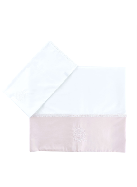 Théophile & Patachou Sheet bed + pillowcase  Royal Pink Theophile & Patachou