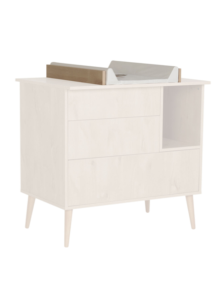 Extension piece chest of drawers Quax Cocoon natural oak