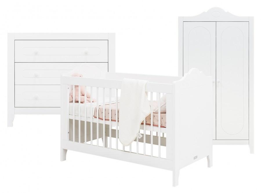 BOPITA EVI 3-PART BABY ROOM WHITE