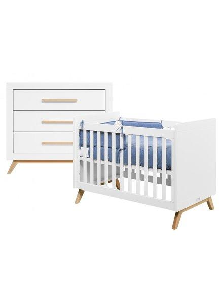 BOPITA FENNA 2-PART BABY ROOM WHITE / NATURAL