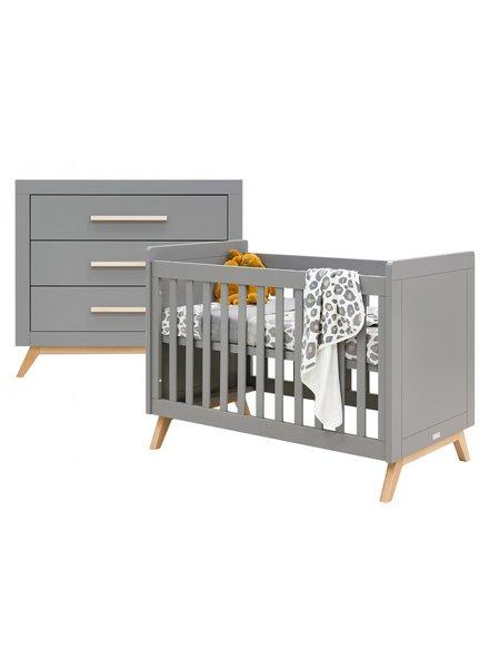 BOPITA FENNA 2-PART BABY ROOM GRAY/NATURAL