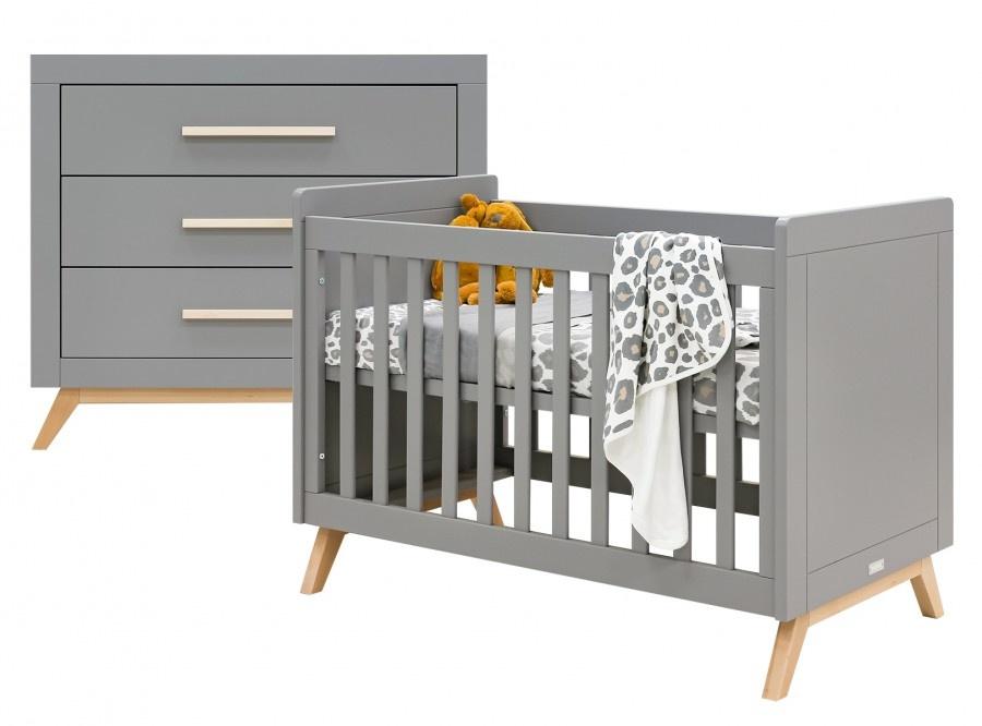 BOPITA FENNA 2-PART BABY ROOM GRAY / NATURAL