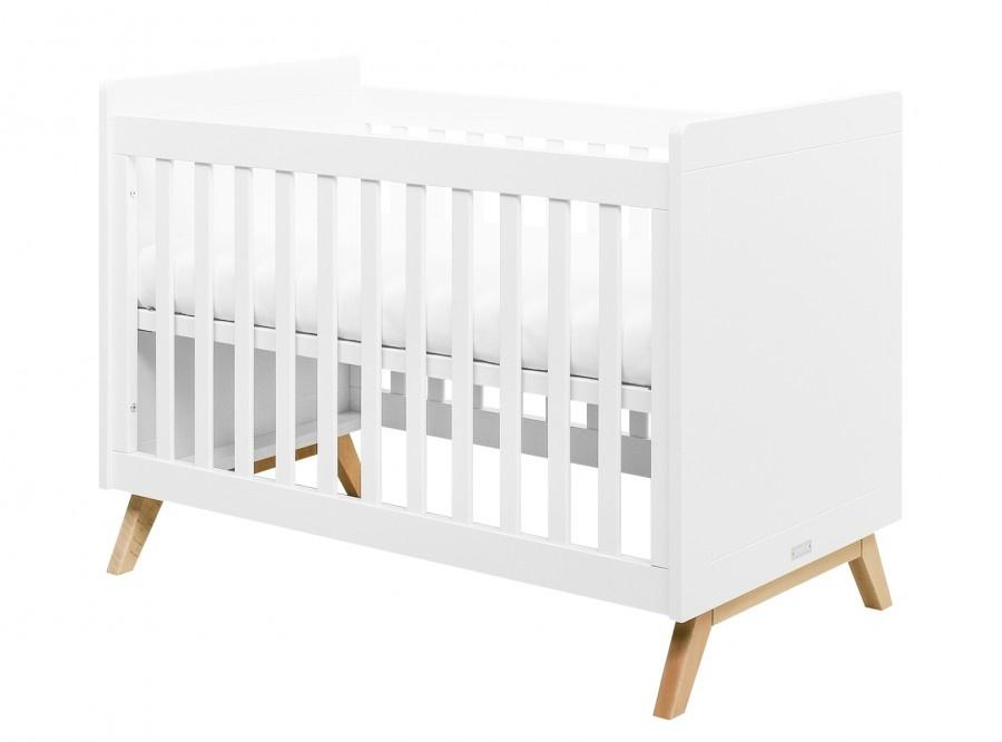 BOPITA BED 60X120 FENNA WIT/NATUREL